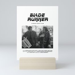 Blade Runner Behind the Scenes Movie Poster Mini Art Print