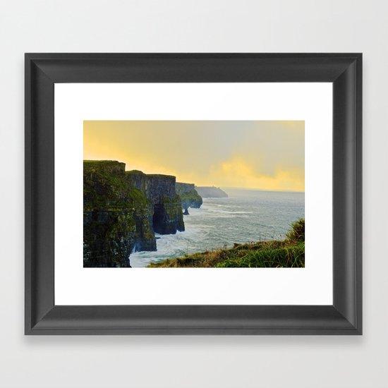Cliffs of Moher Morning Framed Art Print