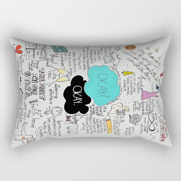 The Fault in Our Stars- John Green Rectangular Pillow