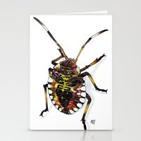 bug Stationery Cards featuring Bug by MSRomeiro