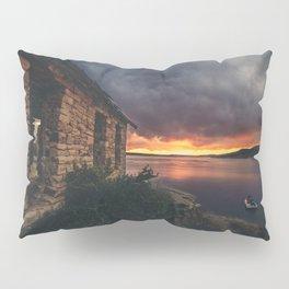 New Mexico Lake Sunset Pillow Sham