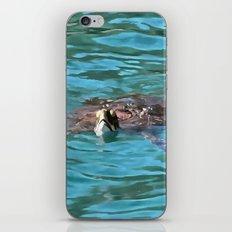 Loggerhead Sea Turtle iPhone & iPod Skin