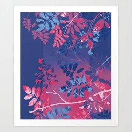 Interleaf - bi Art Print