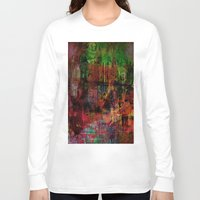 brussels Long Sleeve T-shirts featuring Quartier des Marolles ( Brussels ) by Joe Ganech