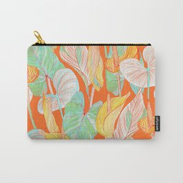 Lush Lily - orange zest Carry-All Pouch