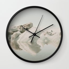 Icebergs XIV Wall Clock