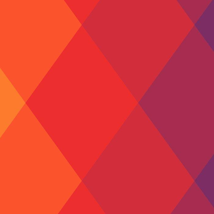 Polygonal rainbow Leggings
