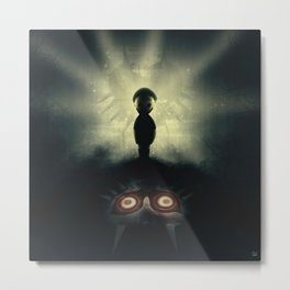 Ben Drowned/You Shouldn't Have Done That Metal Print