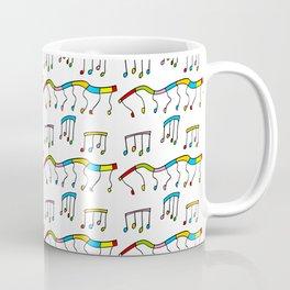 Colors and music--music,melody,fun,pleasure, rhythm, dance, art,sound,pitch,harmony,musical Coffee Mug