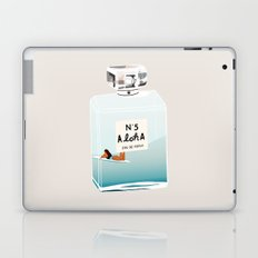 No.5 Aloha, hawaii art, aloha art, summer art, perfume art Laptop & iPad Skin