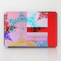 glitch iPad Cases featuring Glitch  by Laina Catherine