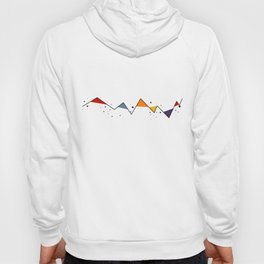 Geometric Mountains Hoody