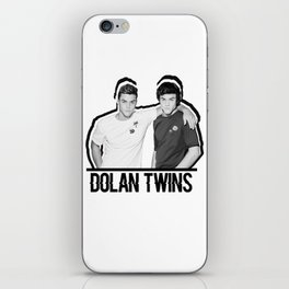 Dolan Twins // B&W iPhone Skin
