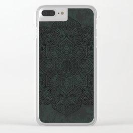 Vintage Mandala Clear iPhone Case