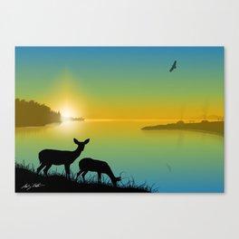 Nenawike Pinesfake (I Saw Them Walking Together) Canvas Print