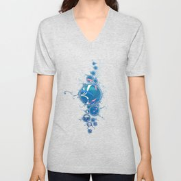 SuperNova In Bubbles Unisex V-Neck