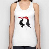quibe Tank Tops featuring Elektra after Gruau by quibe