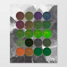 Crop Circles 2 Canvas Print