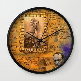 Femmes Damnées Wall Clock
