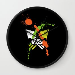 Splatoon - Turf Wars 1 Wall Clock