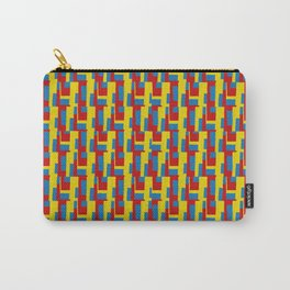 Yellow - Blue - Red Carry-All Pouch