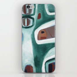 Rock Face iPhone Skin
