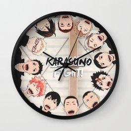 Karasuno  Haikyuu Poster Wall Clock