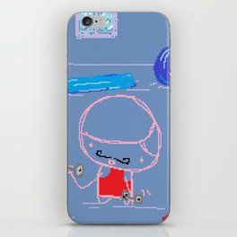 At the Gym iPhone Skin