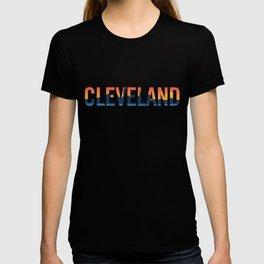 Cleveland Ohio Pride Illustration T-shirt