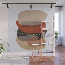 Modern minimal forms 5 Wall Mural
