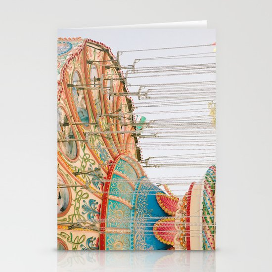 Swing ride Stationery Cards