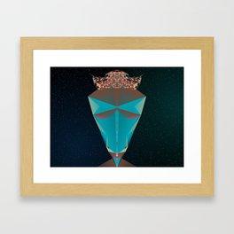 The Greatest Hat Framed Art Print