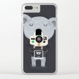 koala cam Clear iPhone Case