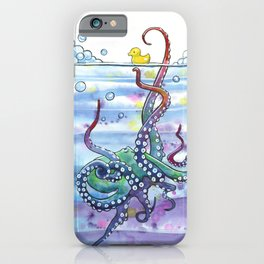 Bath Time Octopus iPhone Case