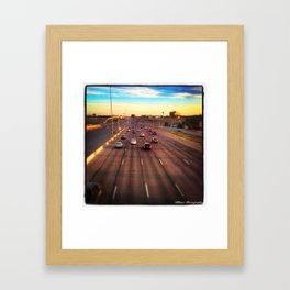 Hello, Denver Framed Art Print