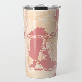 Fractal of the West Style Design Travel Mug