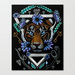 Powerful Tiger  Canvas Print