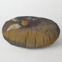 Henri de Toulouse-Lautrec - At the Moullin Rouge Floor Pillow