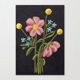 Sunshine Bouquet Canvas Print