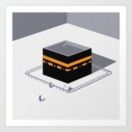 Kaaba Art Print
