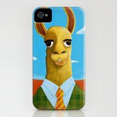 Executive LLama iPhone (4, 4s) Slim Case