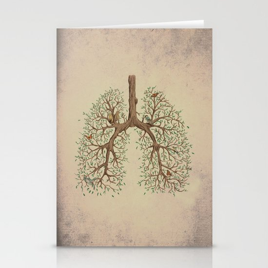 Breathe! Stationery Cards