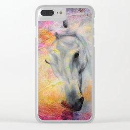 Design 13 Clear iPhone Case