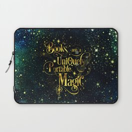 Books Are a Uniquely Portable Magic Laptop Sleeve