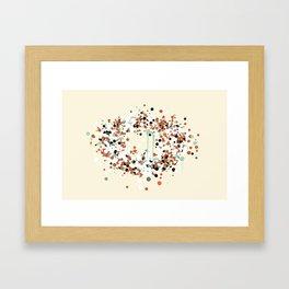 spheres 1 Framed Art Print
