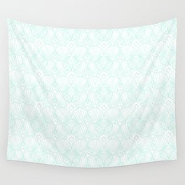 Miami Beach Motel- Mint Wall Tapestry
