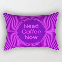 Need Coffee Rectangular Pillow
