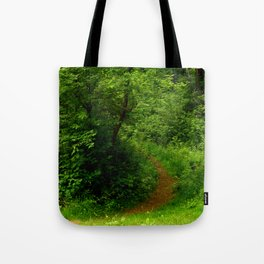In to the Trail Tote Bag