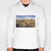 iceland Hoodies featuring ICELAND IV by Gerard Puigmal