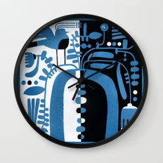 STUDY IN CONTRAST Wall Clock